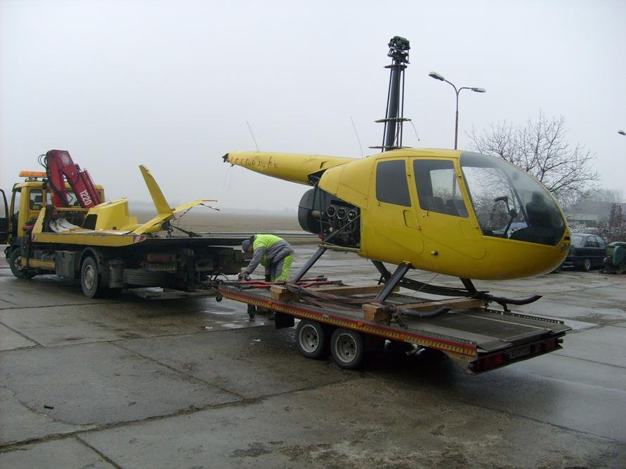Helikopter szállítás